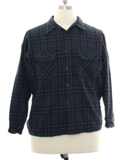 1970's Mens Pendleton Wool Flannel Board Shirt