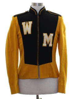 1970's Mens Mod Marching Band Jacket