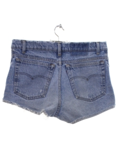 1980's Womens Levis Cut Off Jeans Shorts
