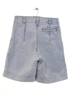 1990's Womens Wicked 90s Acid Washed High Waisted Denim Shorts
