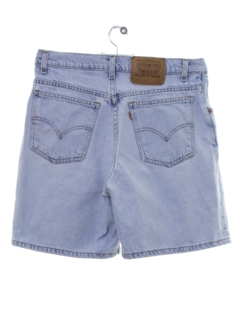 1990's Womens Levis 950 High Waisted Denim Mom Shorts