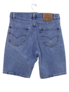 1990's Mens Levis 505 Denim Shorts