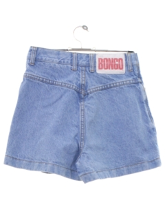 1990's Womens Bongo Wicked 90s Denim Skort Shorts