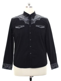 da1fadf4ec Mens Vintage 80s and 90s Western Shirts at RustyZipper.Com Vintage ...