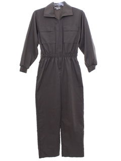 1980's Womens Totally 80s Gas Station Style Jumpsuit
