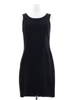 1980's Womens Little Black Dress