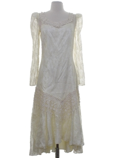 1980's Womens Prom Or Wedding Dress
