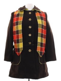 1970's Womens Mod Wool Jacket