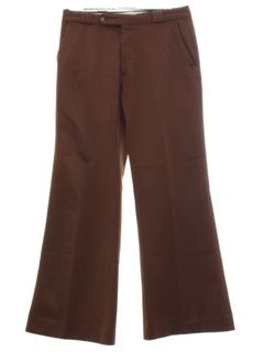 1970's Mens Mod Bellbottom Pants