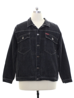 1990's Mens Wicked 90s Denim Jean Jacket