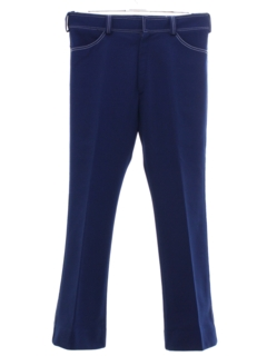 1960's Mens Bellbottom Leisure Pants