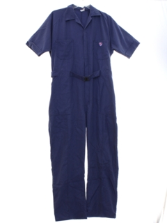 1960's Mens Mod Work Coveralls Jumpsuit