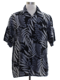 1990's Mens Rayon Hawaiian Style Shirt