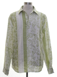 1990's Mens Island Style Club Shirt