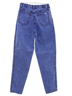 1980's Womens High Waisted Denim Mom Jeans Pants