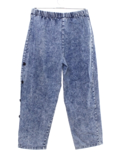 1980's Womens High Waisted Denim Jeans Pants