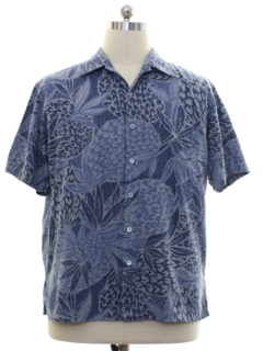 1990's Mens Hawaiian Style Shirt