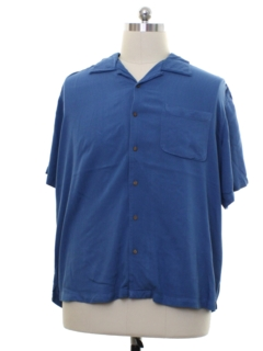 1990's Mens Silk Sport Shirt