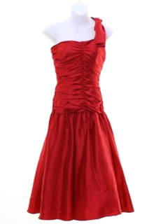 1980's Womens/Girls Totally 80s Prom or Cocktail Dress