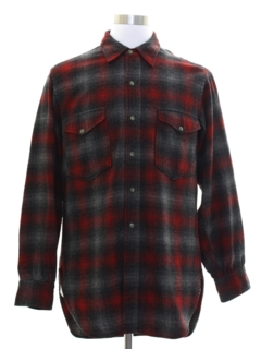 1980's Mens Pendleton Flannel Shirt