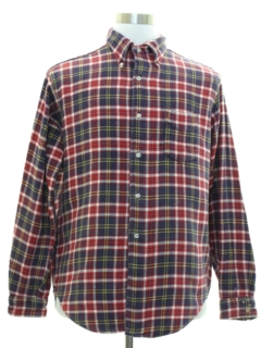 1960's Mens Flannel Shirt