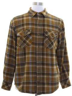 1990's Mens Dickies Flannel Shirt