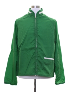 1960's Unisex Windbreaker Zip Jacket