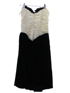 1980's Womens Gunne Sax Prom Or Cocktail Dress