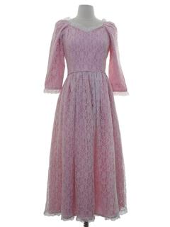 d85fe9571 Vintage 1970's Prom Dresses at RustyZipper.Com Vintage Clothing