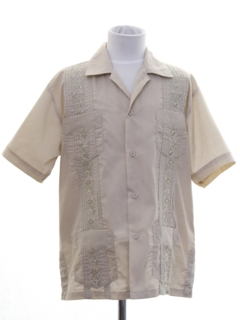 1990's Mens/Boys Guayabera Shirt