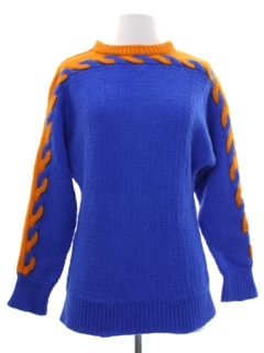 1960's Womens or Girls Mod Sweater