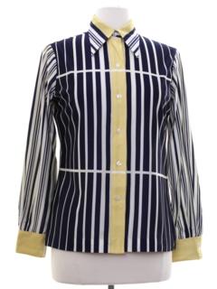 536a2659 Womens Vintage Poly Disco Shirts at RustyZipper.Com Vintage Clothing
