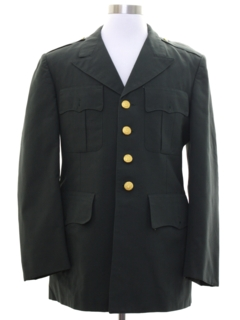 1970's Mens Military Jacket