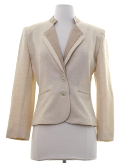1980's Womens Totally 80s Blazer Style Jacket
