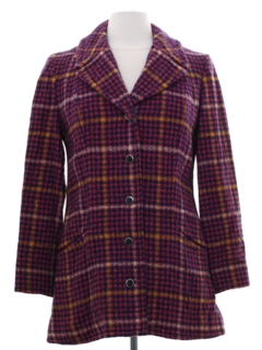 1970's Womens Wool Pendleton Jacket