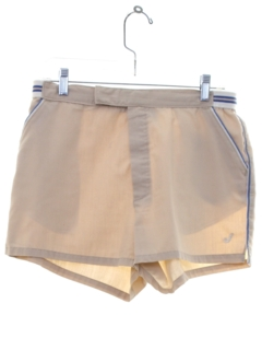 1980's Mens Tennis Style Sport Shorts