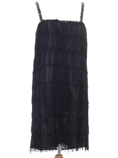 1970's Womens Flapper Style Dress