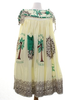 1970's Womens Cameroonian African Dress