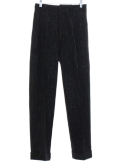 1950's Mens Rockabilly Style Pleated Pants