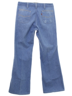 1970's Mens Mod Flared Jeans Pants