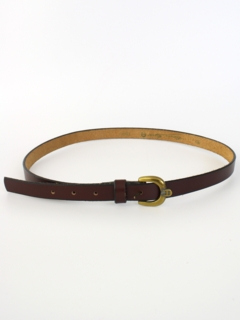 1980's Womens Accessories - Etienne Aigner Designer Belt
