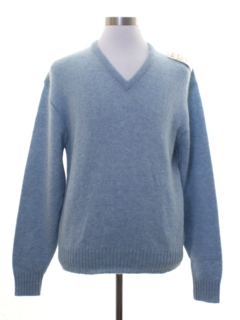 1970's Mens Preppy Wool Sweater