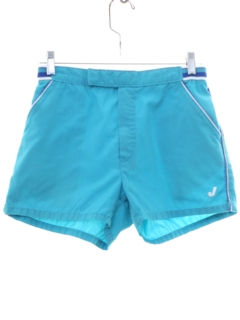 1980's Mens Totally 80s Tennis Sport Shorts