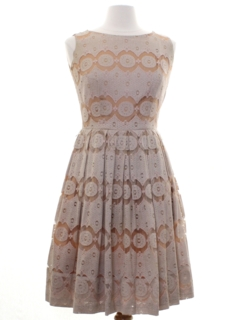 1960's Womens Designer Toni Todd Dress