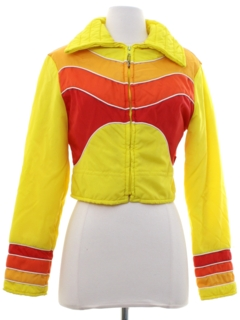 1980's Womens/Girls Totally 80s Ski Jacket