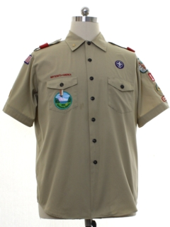 1990's Mens Boyscout Shirt