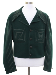 1960's Mens Mod Leisure Styled Jacket