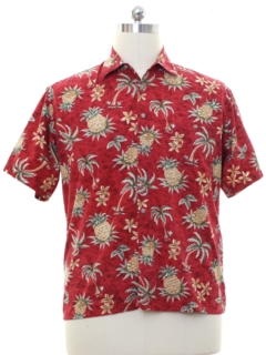 1980's Mens Hawaiian Style Shirt