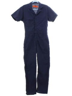 1980's Mens Work Overalls Coveralls