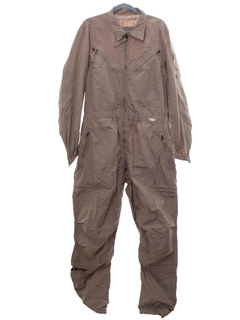 1980's Mens Overalls Work Coveralls